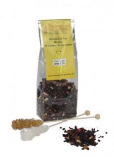 Sternzeichen Tee Skorpion mit Kandiszucker Erdbeer Sahne 100g