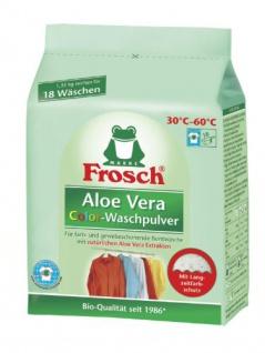 Frosch Aloe Vera Waschpulver Color, 1350 g