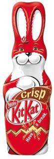 Kitkat - Der besonders knusprige Osterhase - Das perfekte Ostergeschenk 100g