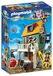 PLAYMOBIL 4796 - Getarnte Piratenfestung mit Ruby