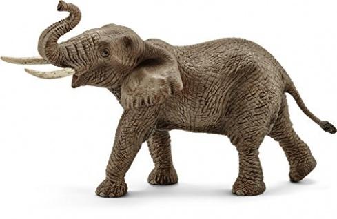 Schleich 14762 Wild Life Spielzeugfigur Afrikanischer Elefantenbulle