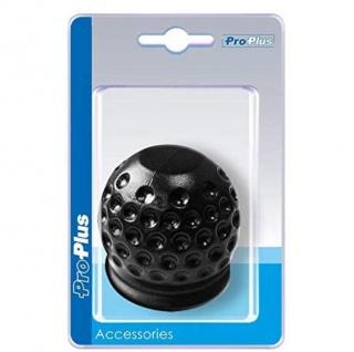Auto KFZ Abdeckkappe für Anhängerkupplung Golfball schwarz Abdeck Kappe für Anhänger Kupplung