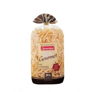 Jeremias Gourmet Bandnudeln 4 mm gewalzt mit Frischei 500g 2er Pack