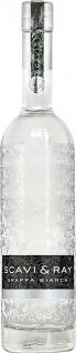 Scavi Ray Grappa Bianca weiss klar Glasflasche Inhalt 700 ml
