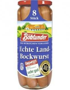 Böklunder Echte Landbockwurst 360g