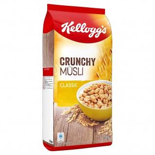 Kelloggs Crunchy Müsli Classic knusprige Cerealien Knuspermüsli 1500g