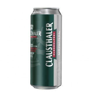 Clausthaler Original Alkoholfreies Bier seit 1979 EW Dose 500ml