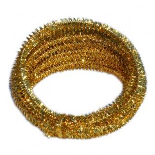 Meyco Chenilledraht Pfeiffenputzer in metallic gold 10 Stück