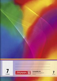 Schulheft DIN A5 FSC Lineatur 7