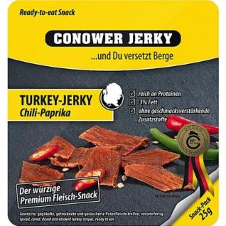 Conower Jerky Turkey Chili Paprika 25g