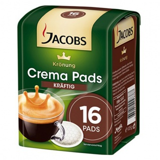 Jacobs Krönung Pads Kräftig, 5er Pack (5 x 105 g)