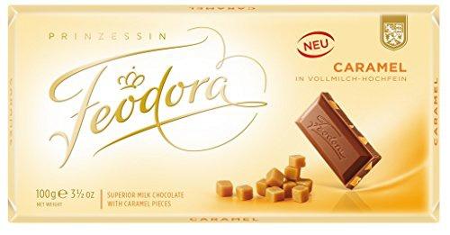 Feodora - Caramel Vollmilch-Hochfein-Schokolade 100g