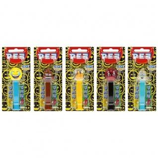 PEZ Mojis Emojis Smiley Spender 2 Päckchen Bonbons 12 Stück Display