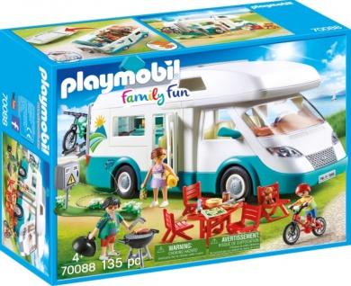 Playmobil Family Fun Familien Wohnmobil Konstruktionsspiel 70088