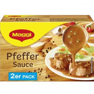 Maggi Pfeffer Sauce perfekt zu Schnitzel und Steak 2er für 2x 250ml