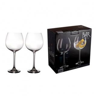 Bohemia Selection Gin Gläser 2er Set Bar Selection klar 680ml