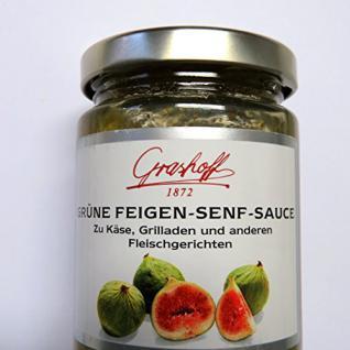 Grashoff Grüne Feigen-SENF-Sauce
