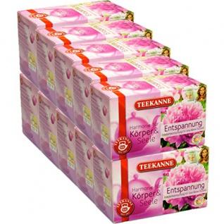 Teekanne Entspannung Kräuterteemischung kleine Auszeit 10er Pack
