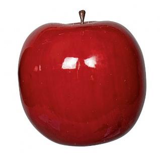Deko Apfel rot 1 Stueck