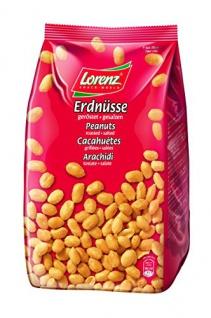 Lorenz Snack World Erdnüsse geröstet, gesalzen Stehbeutel 2er Pack