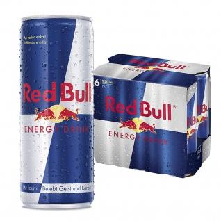 Red Bull Energy Drink koffeinhaltiges Erfrischungsgetränk 250ml 6erPack