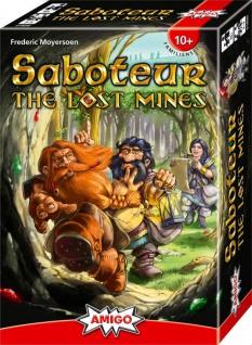Amigo 01800 Saboteur The Lost Mines Ein Spiel für die ganze Familie
