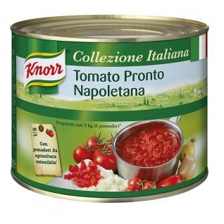 Knorr Tomato Pronto Napoletana milde Tomaten Basissauce 2000g