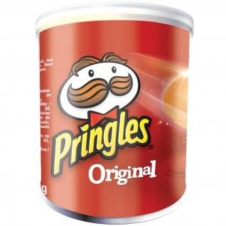 Pringles Original Portionspack mit Stapelchips auch für Veganer 40g 12er Pack