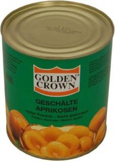 Golden Crown Aprikosen 1/2 Frucht 480g