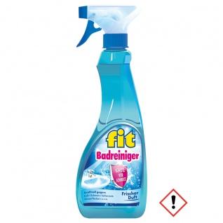 Fit Badreiniger Frischer Duft kraftvoll gegen Kalk und Schmutz 500ml