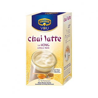 Krüger Chai Latte Typ Honig Lovely India Milchteegetränk 250g