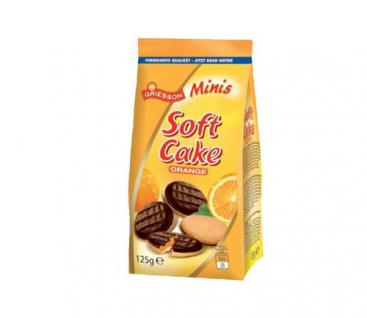 Griesson Soft Cake Minis Orange 125g