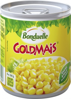 Bonduelle Goldmais Original knackig und frisch 150g 6er Pack