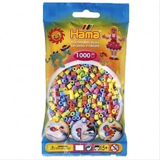 Hama Perlen pastell gemischt 1000
