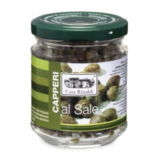 Casa Rinaldi Kapern mit Salz im Glas ohne Aufgussflüssigkeit 130g
