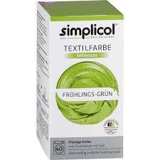 Simplicol Fluessige Textil-F. Intensiv Frühlings Grün