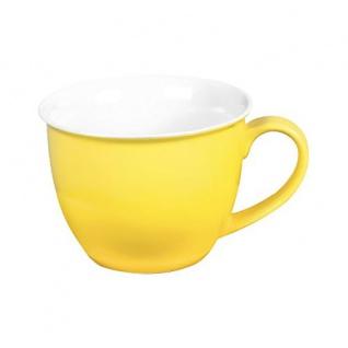 Ritzenhoff und Breker Jumbo Obere Tasse Serie Doppio Farbe gelb