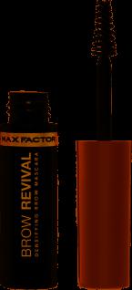 Max Factor Brow Revival 003 Brown Wasser und wischfester Mascara 4g