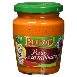 Buitoni Pesto all arrabbiata aus besten Zutaten wie in Italien 150g
