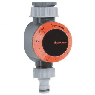 GARDENA Bewässerungsuhr: für Wasserhähne 26.5 mm (G 3/4) oder 33.3 mm (G1)