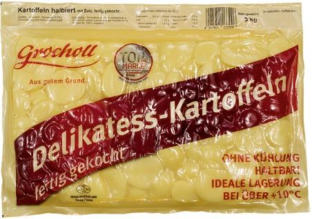 halbierte Kartoffeln mit Salz 3 kg Beutel