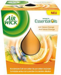 Airwick Wohlfühl-Duftkerze Anti-Tabac-Orange 105g - Vorschau
