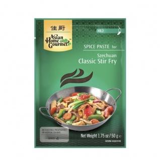Asian Home Gourmet Würzpaste für typisches Szechuan Pfannengericht 50g