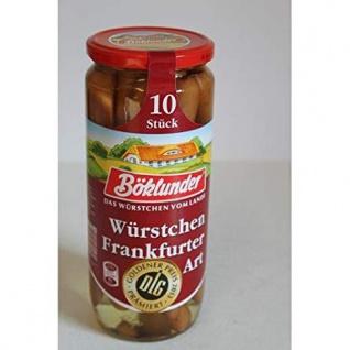 Böklunder - Würstchen nach Frankfurter Art aus Schweinefleisch, 500g