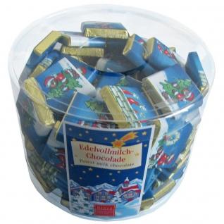 Storz Täfelchen Weihnachts Puzzle aus Vollmilchschokolade 100 x 5g