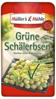 Müller's Mühle Grüne Schälerbsen, 7er Pack (7 x 500 g Packung)