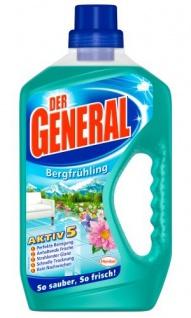 Der General Allzweckreiniger Duft Bergfrühling 750ml 4er Pack