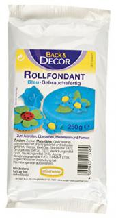 Günthart Back & Decor - Rollfondant Blau - 250g