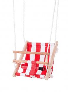 Beluga Spielwaren 70209 - TWIPSOLINO Babyschaukel, rot/weiß