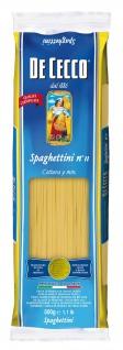 De Cecco Spaghettini Nummer 11 Nudeln aus Hartweizengriess 500g